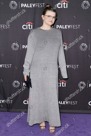"""Leslye Headland attends Fox's """"Almost Family"""" screening and panel at the 2019 PaleyFest Fall TV Previews at The Paley Center for Media, in Beverly Hills, Calif"""