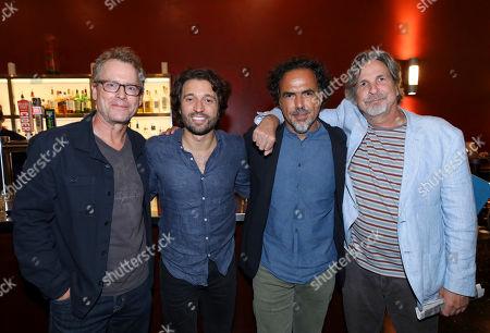 Greg Kinnear, Alejandro Landes, Alejandro Gonzalez Inarritu and Peter Farrelly