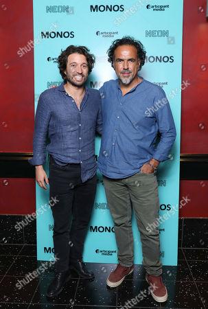 Alejandro Landes and Alejandro Gonzalez Inarritu