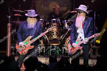 ZZ Top - Dusty Hill, Frank Beard, Billy Gibbons,