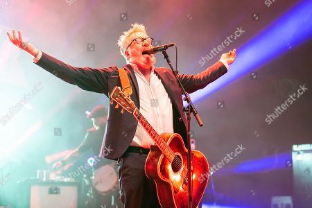 Editorial image of Flogging Molly in concert at Michigan Lottery Amphitheatre, Sterling Heights, USA - 06 Sep 2019