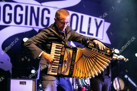 Editorial picture of Flogging Molly in concert at Michigan Lottery Amphitheatre, Sterling Heights, USA - 06 Sep 2019