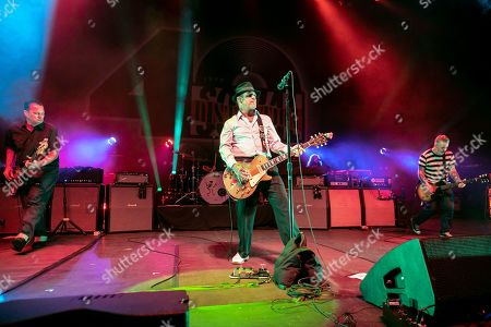 Editorial image of Social Distortion in concert at Michigan Lottery Amphitheatre, Sterling Heights, USA - 06 Sep 2019