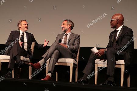 Joaquin Phoenix, Todd Phillips, Director/Writer/Producer, Cameron Bailey, Co-Head of TIFF,