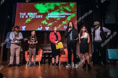 Greta Thunberg, Naomi Klein and other speakers