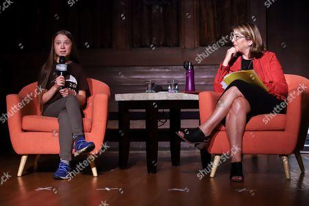 Greta Thunberg and Naomi Klein