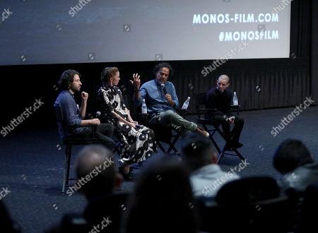 Alejandro Landes, Julianne Nicholson, Alejandro Gonzalez Inarritu and Moises Arias