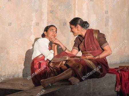 Stock Picture of Anjana Vasan as Niru, Arinder Sadhra as Uma