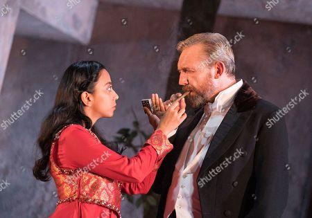 Anjana Vasan as Niru, Colin Tierney as Dr Rank