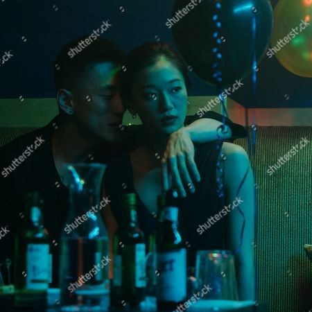 Stock Picture of Jake Choi as Johnny and Tiffany Chu as Kasie