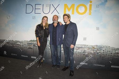Stock Picture of Anna Girardot, Cedric Klapisch and Francois Civil
