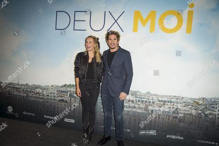 Anna Girardot and Francois Civil