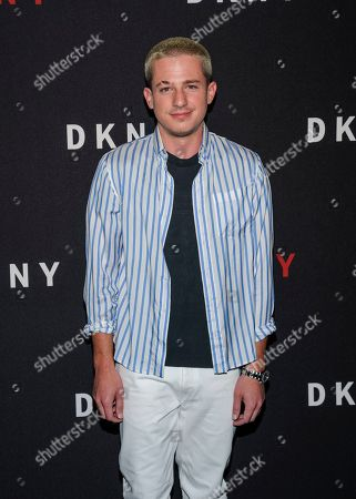 Charlie Puth attends the DKNY 30th Birthday Party event at St. Ann's Warehouse, in New York