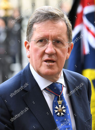 Stock Image of Lord Robertson of Port Ellen