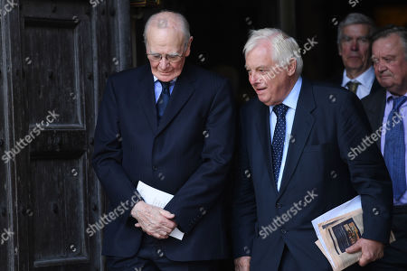 Editorial picture of Service of Thanksgiving for Lord Ashdown, Westminster Abbey, London, UK - 10 Sep 2019
