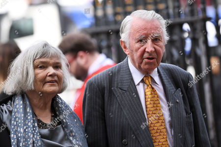Stock Picture of David Steel and his wife Judith MacGregor