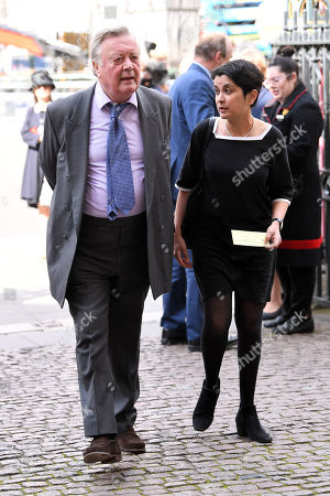 Stock Image of Kenneth Clarke and Shami Chakrabarti