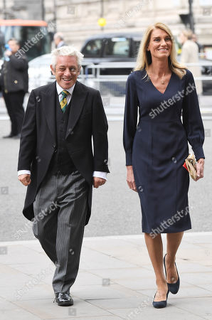 John Bercow and Sally Bercow