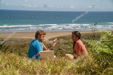 Adam Demos as Jake and Christina Milian as Gabriela