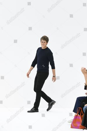 Stock Picture of Wes Gordon on the catwalk