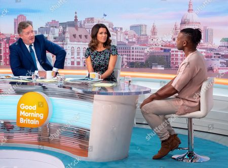Editorial photo of 'Good Morning Britain' TV show, London, UK - 10 Sep 2019