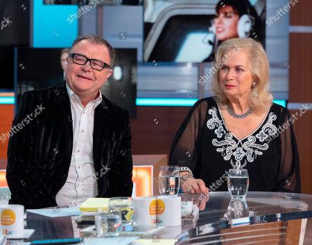 Paul Ross and Valerie Leon
