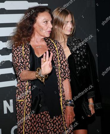 Diane von Furstenberg and Talita von Furstenberg