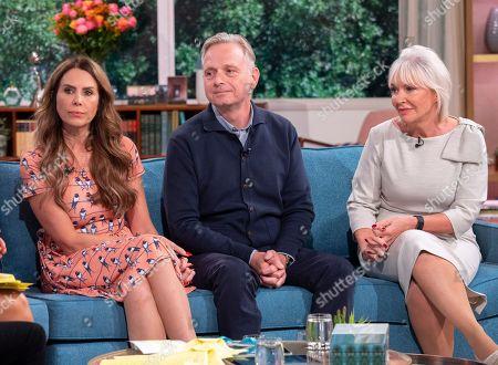Stock Image of Emma Kenny, Simon Gunning and Nadine Dorries