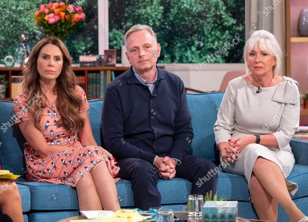 Emma Kenny, Simon Gunning and Nadine Dorries