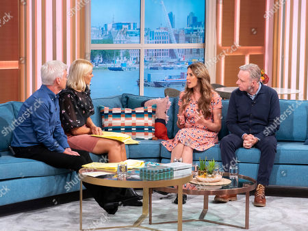 Phillip Schofield and Holly Willoughby with Emma Kenny, Simon Gunning
