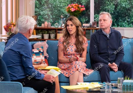 Stock Picture of Phillip Schofield and Holly Willoughby with Emma Kenny, Simon Gunning