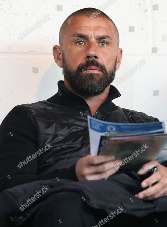 Stock Photo of Kevin Phillips in the stands