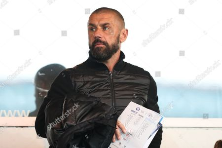 Stock Picture of Kevin Phillips in the stands