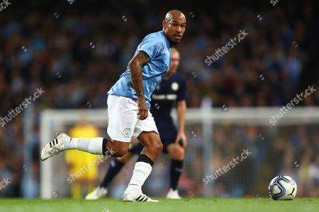 Nigel De Jong of Manchester City Legends
