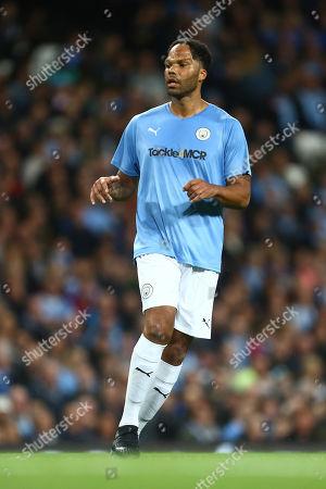 Joleon Lescott of Manchester City Legends