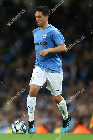 Editorial photo of Man City Legends v Premier League All-Stars, Vincent Kompany Testimonial Match, Football, Etihad Stadium, Manchester, UK - 11 Sep 2019