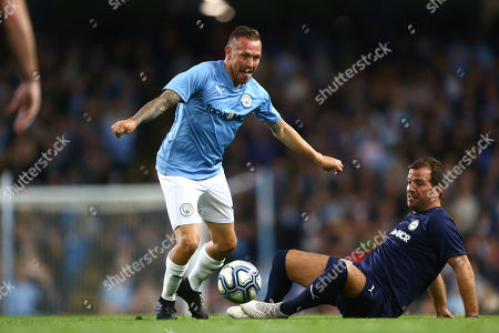Editorial photo of Man City Legends v Premier League All-Stars, Vincent Kompany Testimonial Match, Football, Etihad Stadium, Manchester, UK - 11 Sep 2019