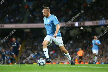 Stock Image of Craig Bellamy of Manchester City Legends