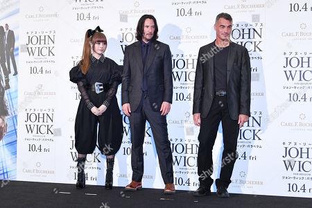 Editorial image of 'John Wick: Chapter 3 - Parabellum' film premiere, Tokyo, Japan - 10 Sep 2019