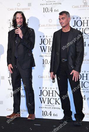 Keanu Reeves and Chad Stahelski