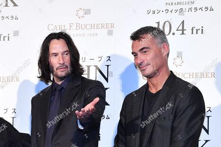 Editorial photo of 'John Wick: Chapter 3 - Parabellum' film premiere, Tokyo, Japan - 10 Sep 2019