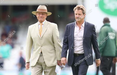 Sir Geoffrey Boycott and Mark Nicholas