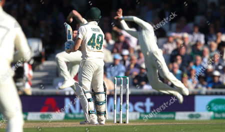 Editorial image of England v Australia, 5th Test, Day 2, Specsavers Ashes Series, Cricket, Kia Oval, London, UK - 13 Sep 2019