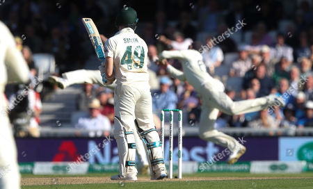 Editorial picture of England v Australia, 5th Test, Day 2, Specsavers Ashes Series, Cricket, Kia Oval, London, UK - 13 Sep 2019