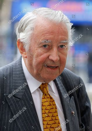 David Steel, British Liberal Democrat politician, arrives to attend a memorial service for former Leader of the Liberal Democrats Lord Paddy Ashdown at Westminster Abbey in London