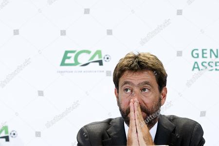 Editorial photo of ECA general assembly in Geneva, Switzerland - 10 Sep 2019