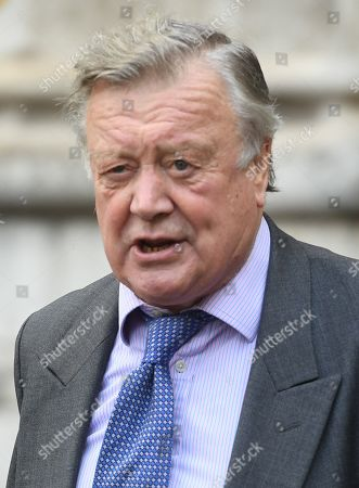 Father of the House and British Member of Parliament Kenneth Clarke attends a Service of Thanksgiving for the life and work of Lord Ashdown in Westminster Abbey London, Britain, 10 September 2019. Paddy Ashdown was a former leader of the Liberal Democrats.