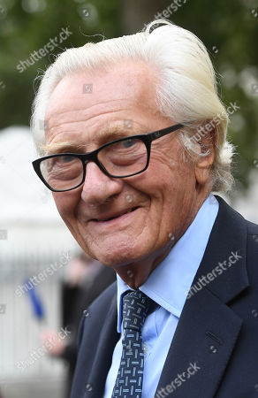 British Conservative politcian, Lord Michael Heseltine attends a Service of Thanksgiving for the life and work of Lord Ashdown in Westminster Abbey London, Britain, 10 September 2019. Paddy Ashdown was a former leader of the Liberal Democrats.