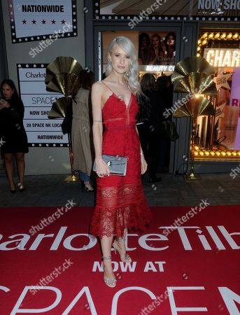 Editorial image of 'Space NK x Charlotte Tilbury' photocall, London, UK - 09 Sep 2019