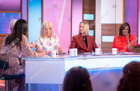 Stock Image of Christine Lampard, Denise Welch, Kellie Maloney, Carol McGiffin and Kelle Bryan